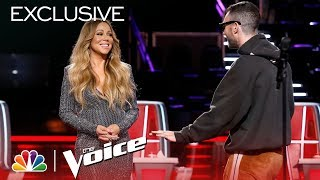 Mariah Carey Is Here and the Coaches are Losing Their Minds - The Voice 2018 (Digital Exclusive)