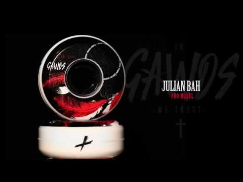Video GAWDS Roue JULIAN BAH 2018 60mm/90A Blanc [x4]