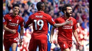 Liverpool FC vs Brighton & Hove Albion, May 13th 2018