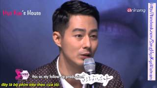 (Vietsub by HyeKyo's house) Showbiz Korea -Press conference of the drama That Winter, The Wind Blows
