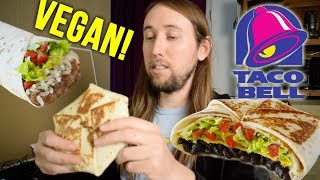 Vegan Taco Bell Menu Items Food Review!
