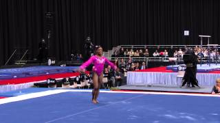 Simone Biles - Floor Exercise - 2015 AT&T American Cup - NBC