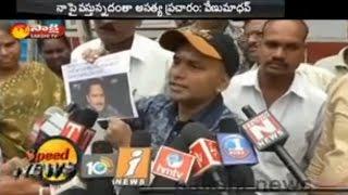 Comedian Venu Madhav appears at Kushaiguda PS..
