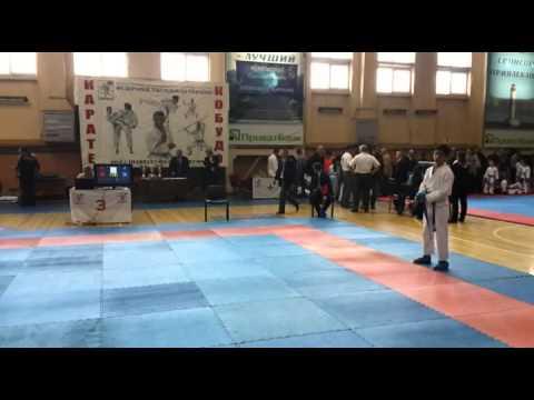 Тигренок на Чемпионате Украины по Годзюрю. 9 мая 2015