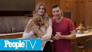 Ryan Seacrest And Shayna Taylor Take Us Inside Their Spacious NYC Kitchen | PeopleTV