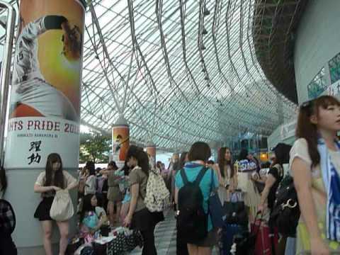 120804 SMTOWN Live World Tour III in Tokyo.Walking through fans