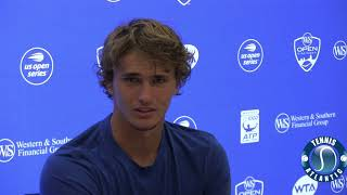 Sascha Zverev at 2018 Western & Southern Open