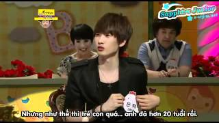 Super Junior vs bé gái - Đau cả bụng
