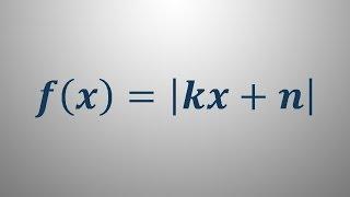 Linearna funkcija in abosolutna vrednost
