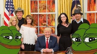 Kid Rock Takes Control Over The White House