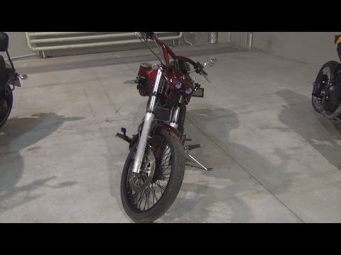 Suzuki Intruder 1400 SC1 Scorpio Custom Bike Exterior and Interior in 3D