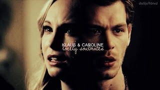 Klaus and Caroline  Lonely Soulmates