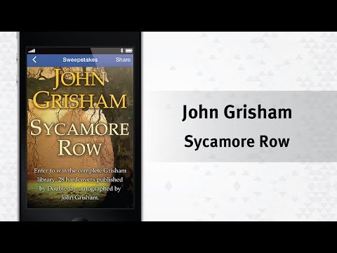Social Performance Marketing Example - John Grisham