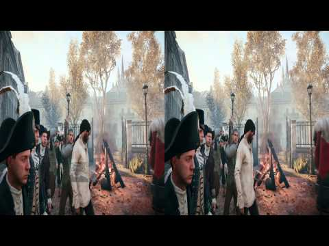 Assassins Creed Unity Android VR Samsung Galaxy S4 Google Cardboard PC TriDef Trinus Gyre 1080p