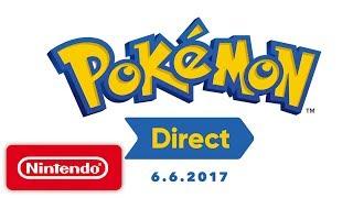 Pokémon Direct 6.6.2017