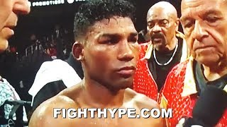 "GAMBOA SECONDS AFTER KNOCKOUT LOSS TO GERVONTA DAVIS; BLAMES ACHILLES RUPTURE: ""I'M A WARRIOR"""