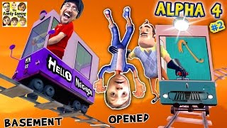 HELLO NEIGHBOR ALPHA 4: CHOO CHOO TRAINS & BOO BOO THANGS🔥 FGTEEV Pt 2 Basement Marts Tips & Tricks