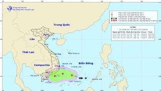 Dự báo thời tiết 17/11 : Không khí lạnh liên tục tăng cường, áp thấp mạnh thành áp thấp nhiệt đới