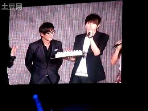 FANCAM | 100911 SMTown LIVE ~ Kangta's 15th anniversary with SM Family