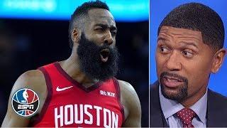 Jalen Rose declares it: The NBA's regular season 'is officially back' | NBA Countdown