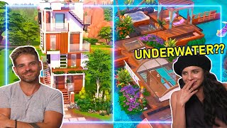 Architects REACT to Insane Speed Builds in The Sims 4 | Experts React