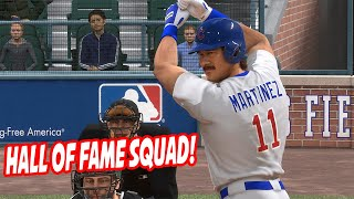 Hall of Fame Player Squad! Team is Too Good! - MLB The Show 18 Diamond Dynasty Gameplay