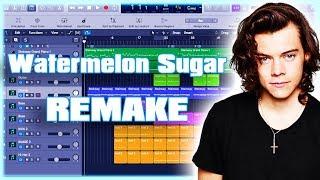 Remaking Harry Styles - Watermelon Sugar Instrumental Remake (Production Tutorial) By MUSICHELP