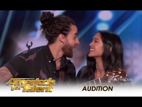Us The Duo: Couple Music Band Sing Their MARRIAGE Song!    America's Got Talent 2018