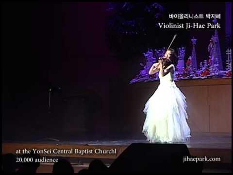 박지혜 Christmas Carol on violin Oh Holy Night(오 거룩한 밤) - Violinist Ji-Hae Park 크리스마스 캐롤
