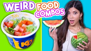 trying the weirdest food cravings on tiktok