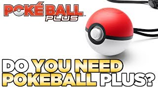 Do YOU Need the Pokeball Plus for Let's Go Pikachu & Eevee? | Austin John Plays