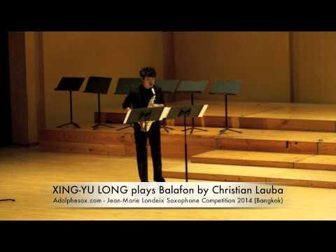 XING YU LONG plays Balafon by Christian Lauba