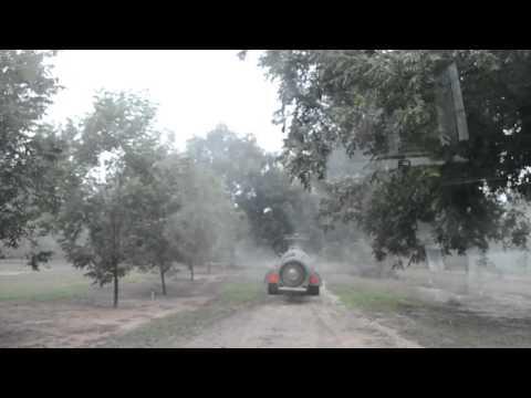 DW3210A Sprayer test