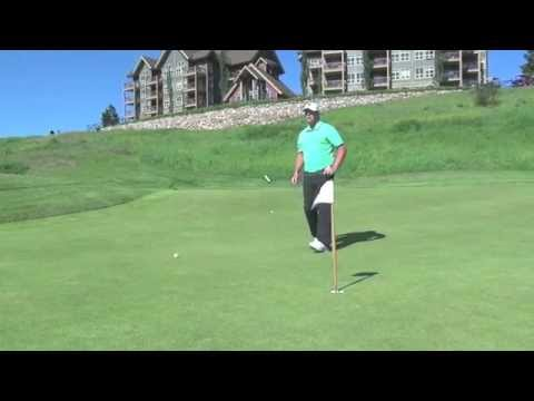 How to Assess a Downhill Putt