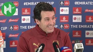 Unai Emery: Manchester United perfect FA Cup opponents for Arsenal