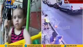 Incredible Moment: Hero Lad CATCHES Two-Year-Old Girl Who ..