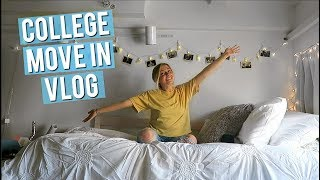 COLLEGE MOVE IN DAY VLOG