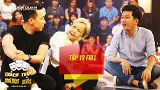 Thách thức danh hài 3 | tập 13 full hd: Trường Giang ngồi bệt giữa sân khấu tâm sự cùng thí sinh