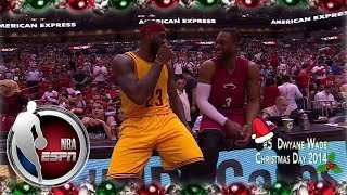 Kobe, MJ, LeBron represent in 12 plays of Christmas | ESPN