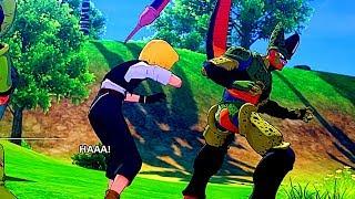 Cell Eats Android 18 Scene - Dragon Ball Z Kakarot - ...