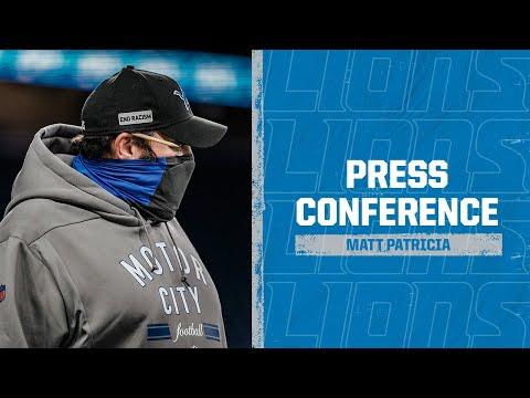 Detroit Lions vs. Houston Texans | 2020 Week 12 Matt Patricia postgame press conference