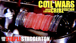 COIL WARS | Cribz Edition | How to Build a Staple Staggerton Coil