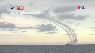 Hạm đội Biển Caspi của Nga phóng phi đạn hành trình hướng tới Syria