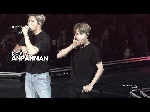 180909 방탄소년단 지민 (BTS JIMIN) - Anpanman (JIMIN FOCUS 4K fancam)