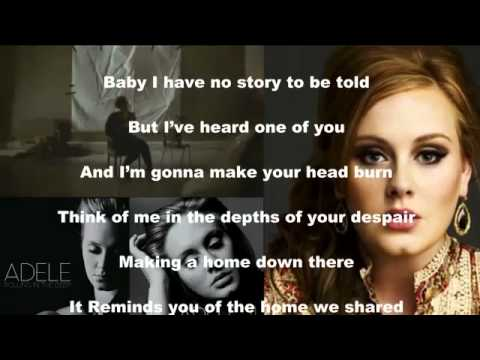 Adele Rolling - In The Deep