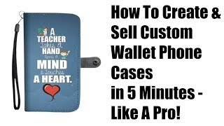 Wallet Case Profits Review - How To Create & Sell Custom Wallet Phone Cases in 5 Minutes