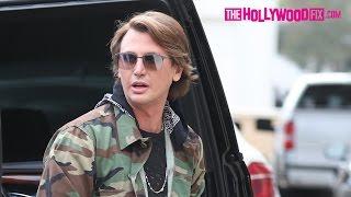 Jonathan Cheban Goes Shopping At Barneys Before Filming Keeping Up With The Kardashians 5.9.17