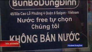 Truyền hình VOA 15/6/19: Quán bún 'cấm khựa' ở Sài Gòn bị cưỡng chế