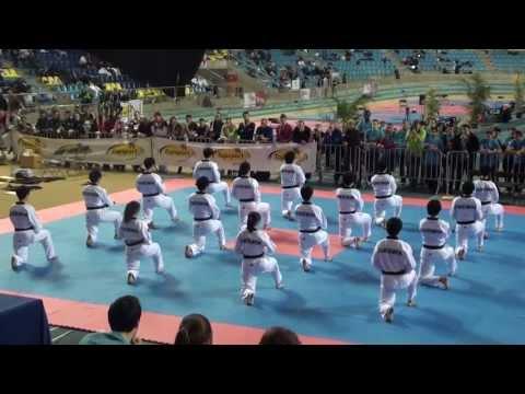 Kukkiwon Taekwondo Demonstration (2013 Belgian Open)