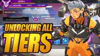 Buying All 100 Tiers In Apex Legends Season 9 Battle Pass Legacy